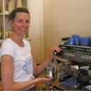 Italienische Kaffemaschine - Italian coffee machine