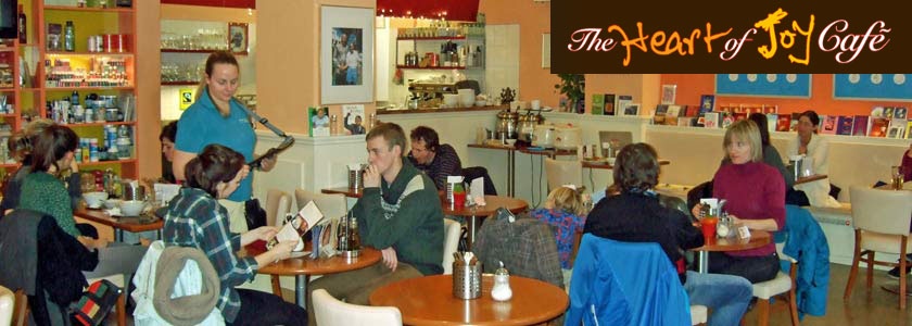 Innenraum des Cafes