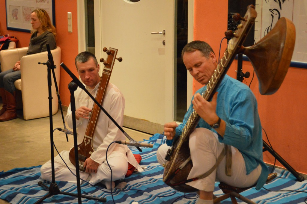 Indian Sitar and Tampura in The Heart of Joy