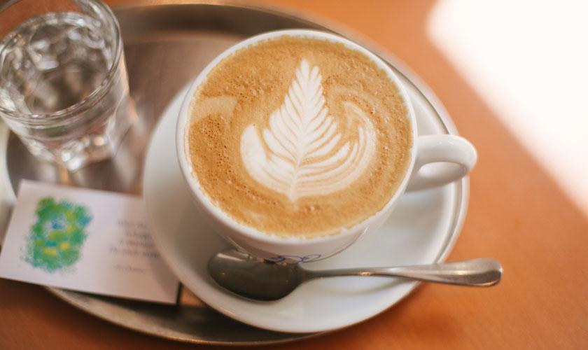 Prem Frischekaffee im The Heart of Joy