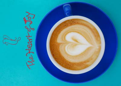 Kaffee mit veganer Milch