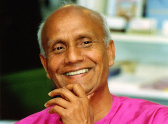 Spiritual teacher Sri Chinmoy