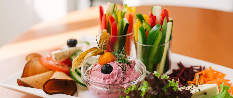 Vegetarisches Schlemmerfrühstück
