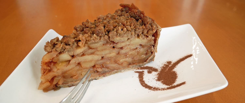Veganer Apfel-Dinkelkuchen