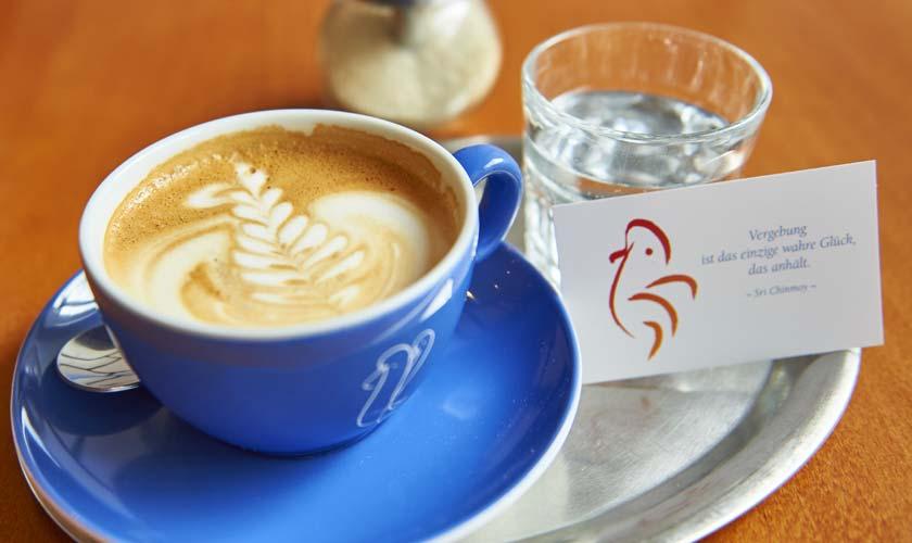 Delicious organic coffee